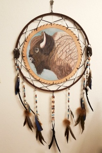 Buffalo Dream Catcher